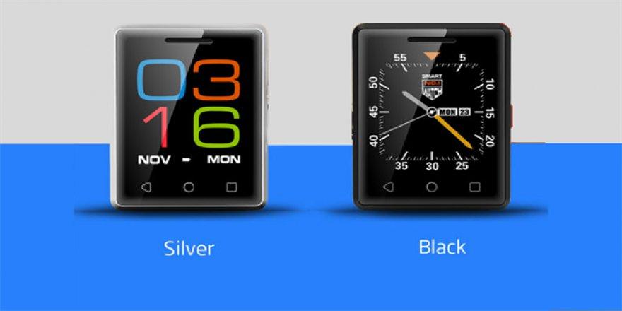 Bu telefon akıllı saat boyutunda