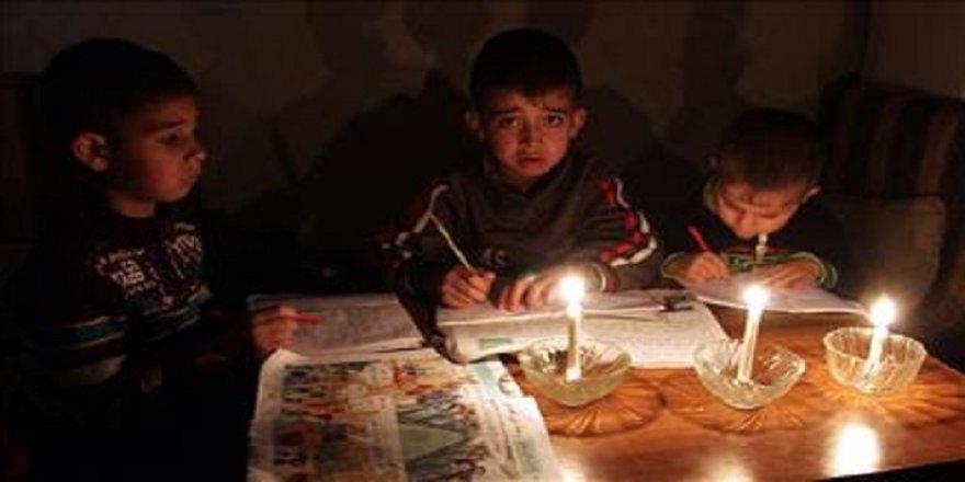 Gazze'ye elektrik için bütün seçenekler masada