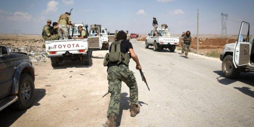 Muhalifler PKK'ya o bölgede saldırı başlattı