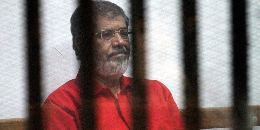 Mursi'nin 20 yıl hapis cezası onaylandı
