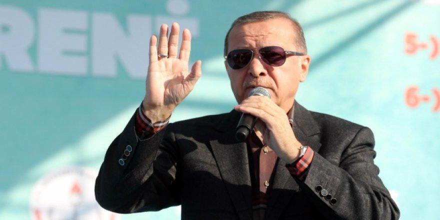 Erdoğan'dan başkanlık açıklaması