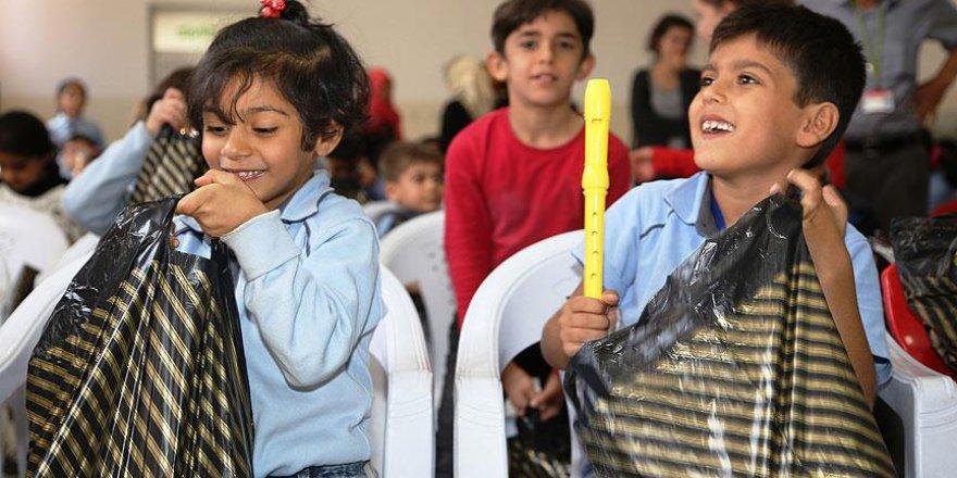 Sığınmacı çocuklara umut oldular