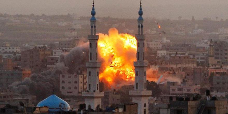 Katil yine tehdit etti: Gazze'yi tamamen yok edeceğiz