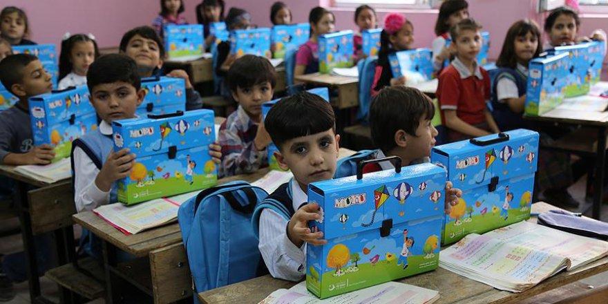 Türkiye'de öğrenim gören Suriyeli öğrenci sayısı
