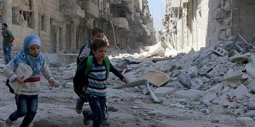 Halepliler giderse Rusya ve Esed yeniden insan olacak!