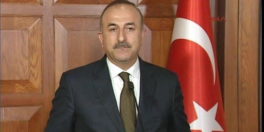 Çavuşoğlu: YPG, Suriye'de yerel güç sayılamaz