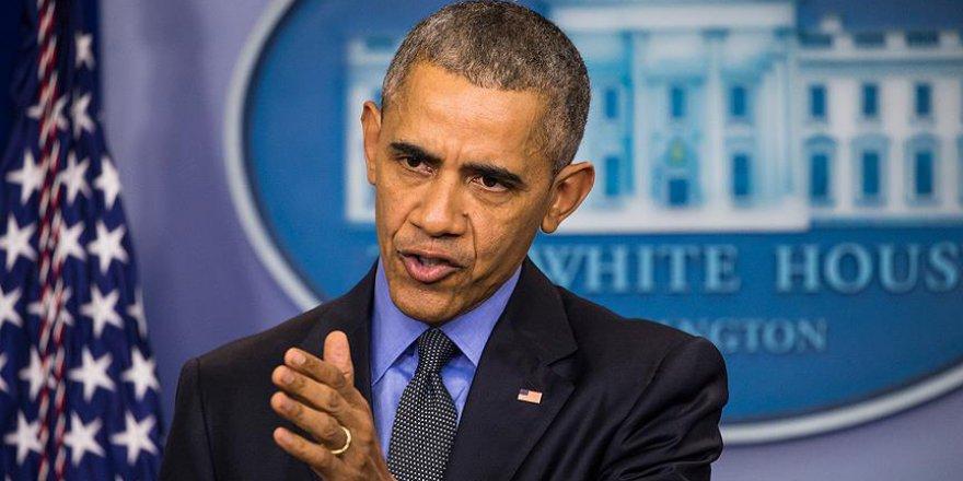 Obama en cesur kararını açıkladı: Suriye'yi bombalamak