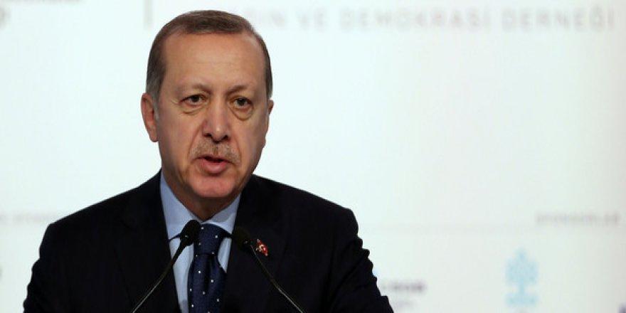 Cumhurbaşkanı Erdoğan: O olmasaydı olmazdık
