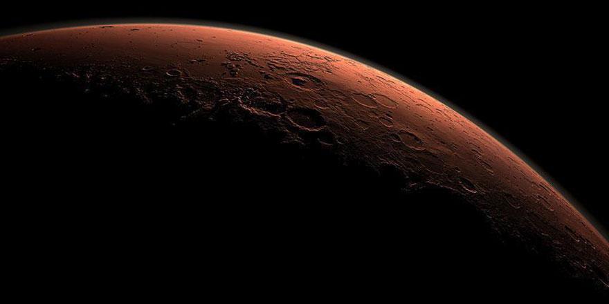NASA Mars'ta ilk tuğlayı yaptı