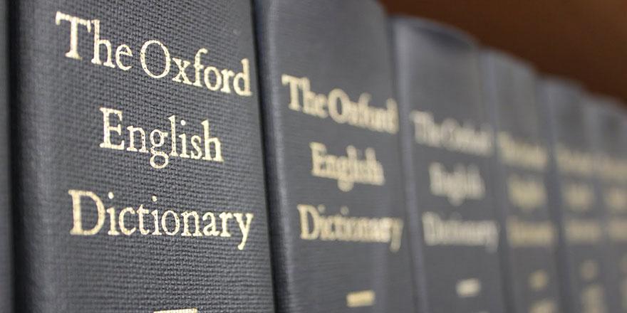 Oxford Sözlüğü'ne girecek en az 500 ürünümüz var