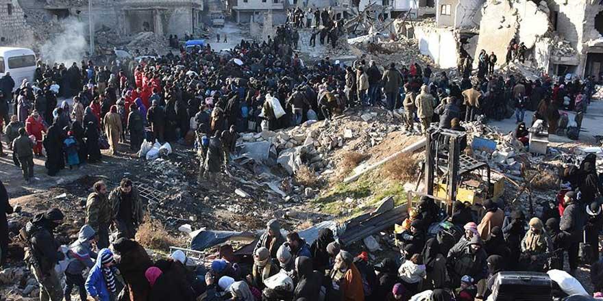 Halep'e 164 milyon TL yardım toplandı