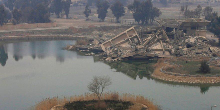 Saddam'ın Sarayı'nın son hali