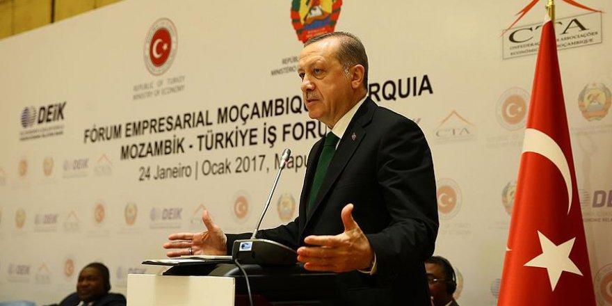 Erdoğan: Biz Afrika'yı kimlerin sömürdüğünü gayet iyi biliriz
