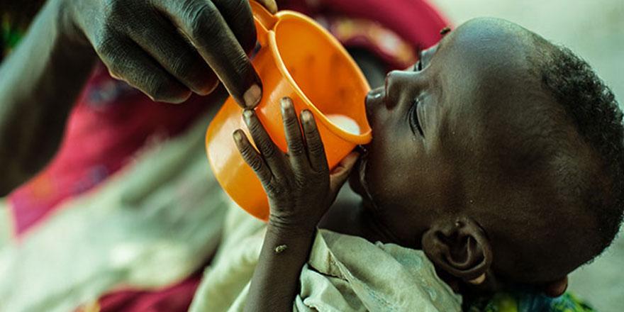 '1 milyon çocuk Güney Sudan'dan kaçtı'