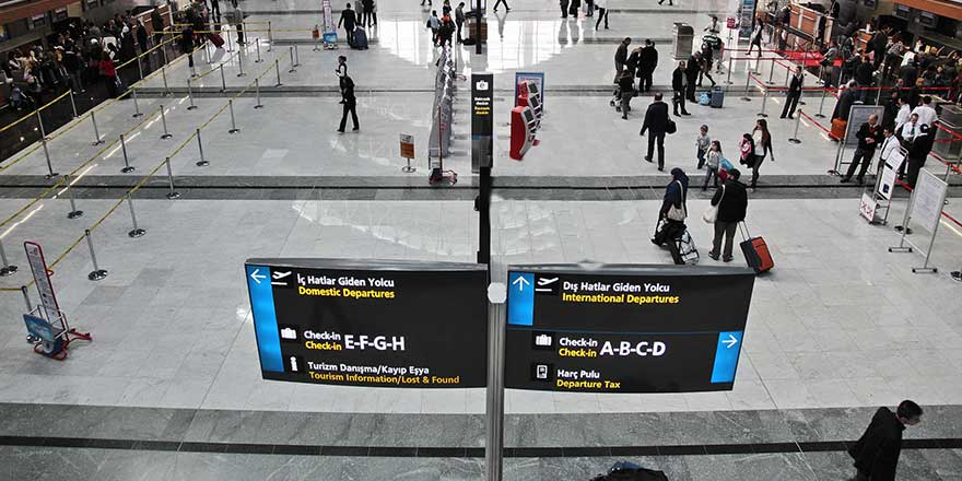 Havalimanlarında 'uçuş kaçırma' derdi sona eriyor