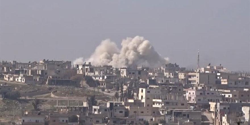 İran ve Esed, camiyi bombaladı