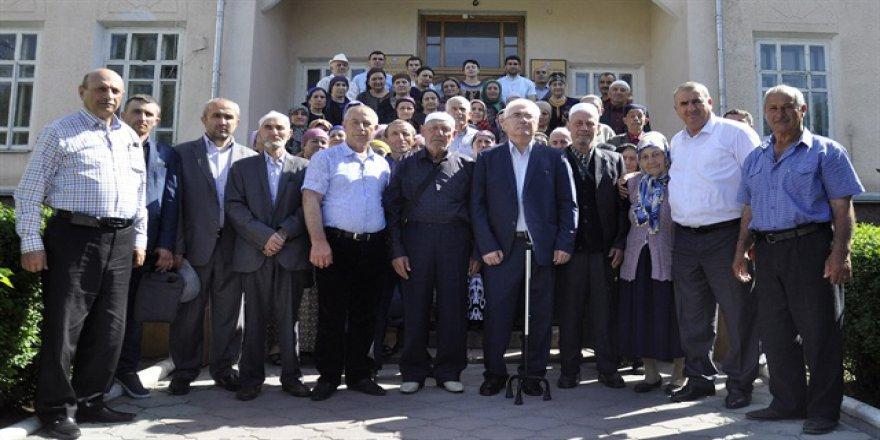 Diyanet İşlerinden Ahıska Türklerine umre desteği