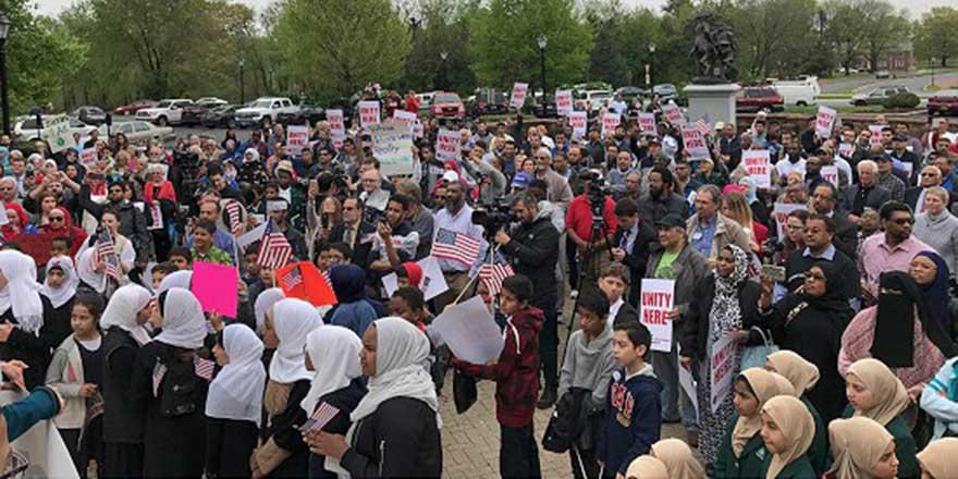 ABD'de İslam karşıtı eylemler protesto edildi