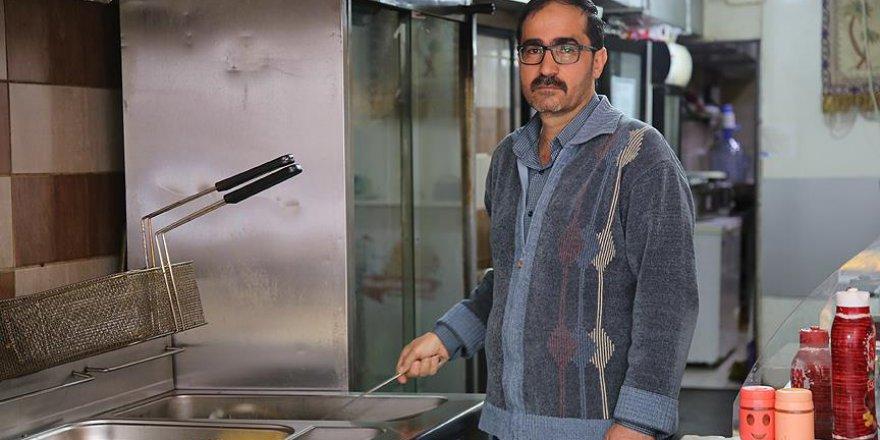 Suriyeli lokantacıdan yoksullara ücretsiz yemek