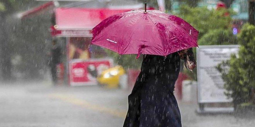 3 ilde sağanak yağış bekleniyor