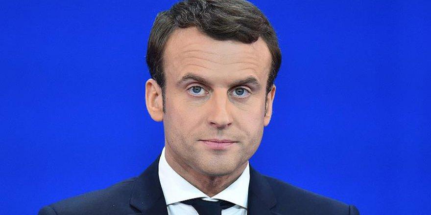 Fransa'daki anketlerde Macron önde görünüyor