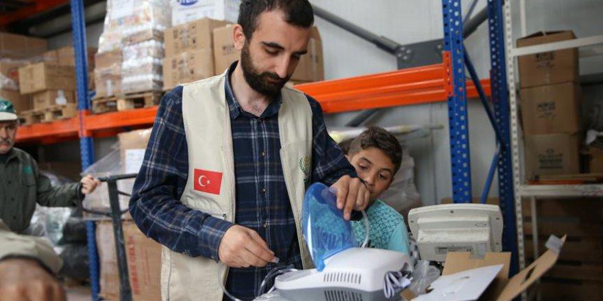 İHH'dan Suriye'ye sağlık desteği