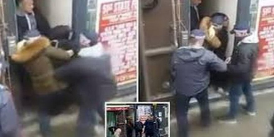 Irkçılar Müslüman kadına saldırdı