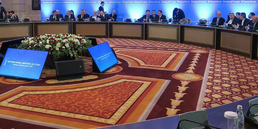 Astana'da Suriye konulu teknik toplantı yapılacak