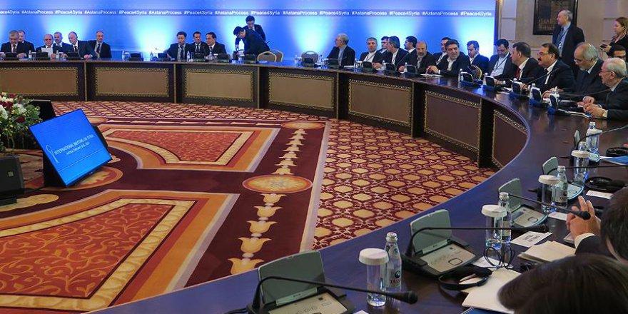 Astana'da Suriye konulu görüşmeler sona erdi