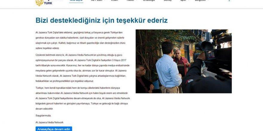 El Cezire Türk yayınlarına son verdi