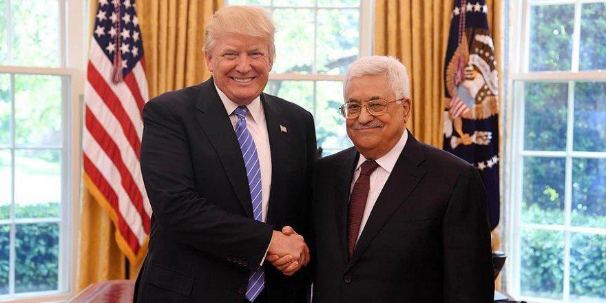 Trump'tan Filistin İsrail barışı açıklaması