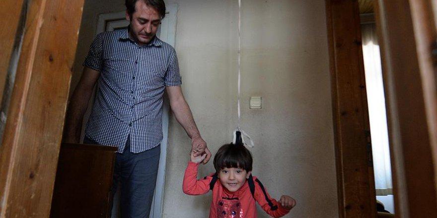 Cumhurbaşkanı Erdoğan fedakar baba ile görüştü