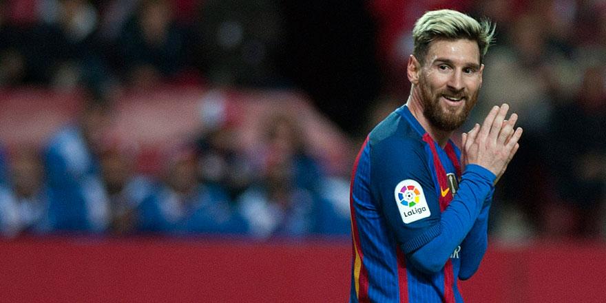 Lionel Messi'den Suriyeli çocuklara eğitim yardımı