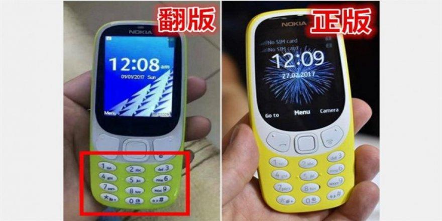 Yeni Nokia 3310 sahtecilerden kurtulamadı