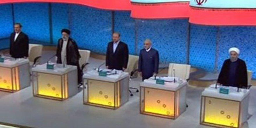 İran'da, Cumhurbaşkanı adayları karşı karşıya geldi