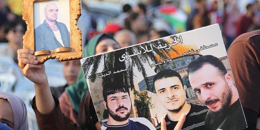 Faslı aktivistlerden Filistinli tutuklulara 'destek grevi'