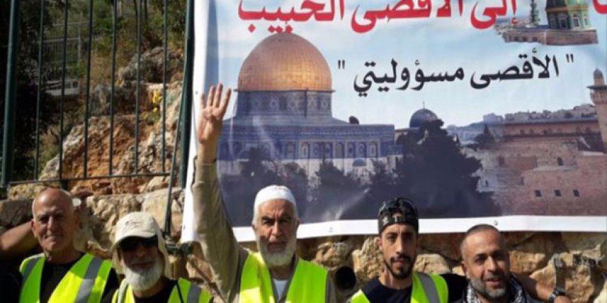 Raid Salah Hayfa'dan Kudüs'e yürüyecek