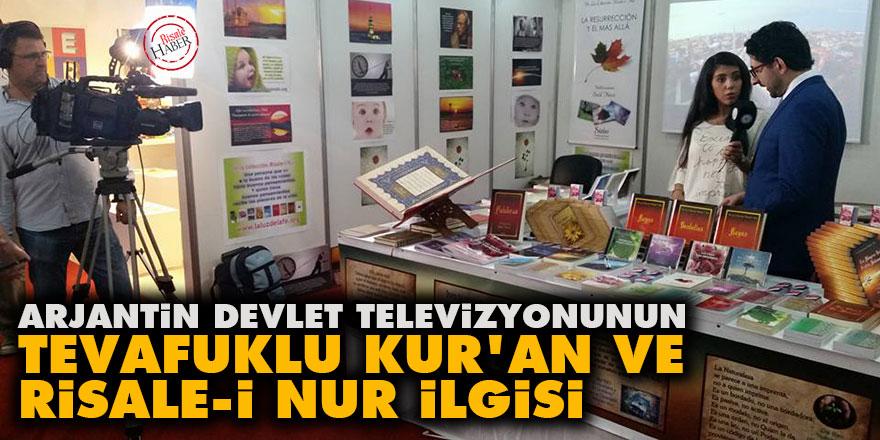 Arjantin devlet televizyonunun tevafuklu Kur'an ve Risale-i Nur ilgisi