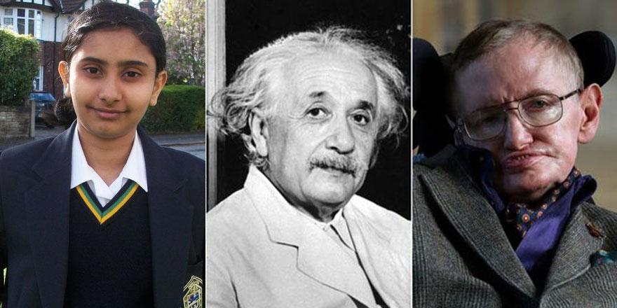 12 yaşındaki kız Einstein ve Hawking'i geride bıraktı