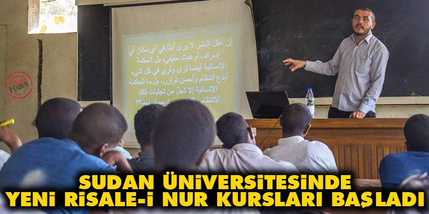 Sudan üniversitesinde yeni Risale-i Nur kursları başladı