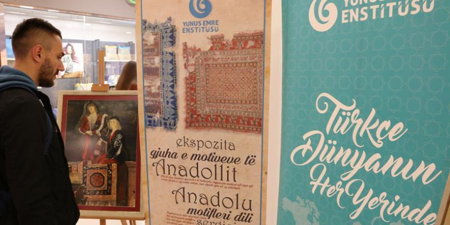 Kosova'da 'Anadolu Motiflerinin Dili' Sergisi açıldı