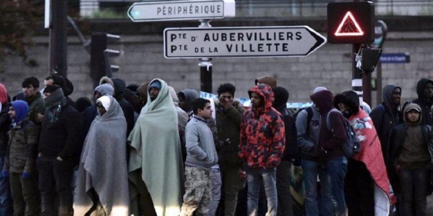 Paris bin sığınmacıya bakamadı!