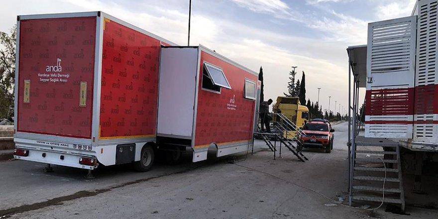 Türkiye'den Bab'a sağlık hizmeti
