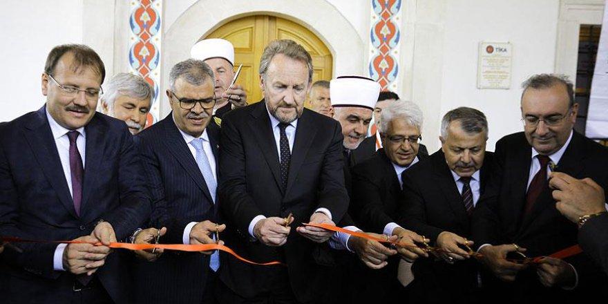 Sırpların yıktığı cami 25 yıl sonra ibadete açıldı