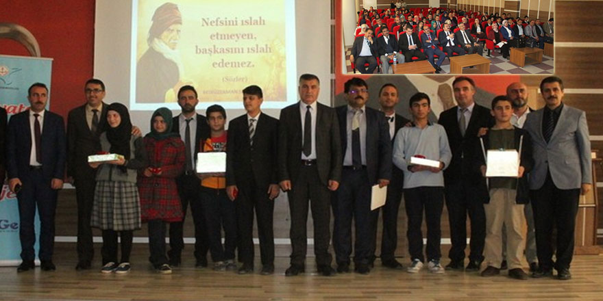 Said Nursi, Akif, Benna, Aliya, İkbal, Malcolm okudular yarıştılar