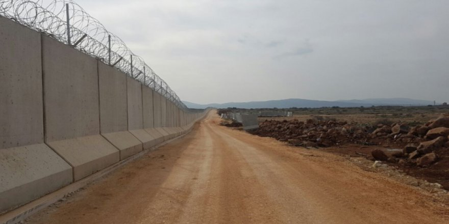 TOKİ'den İran sınırına duvar
