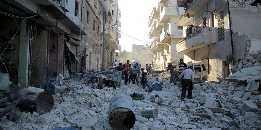 Esed rejimi yine bomba yağdırdı