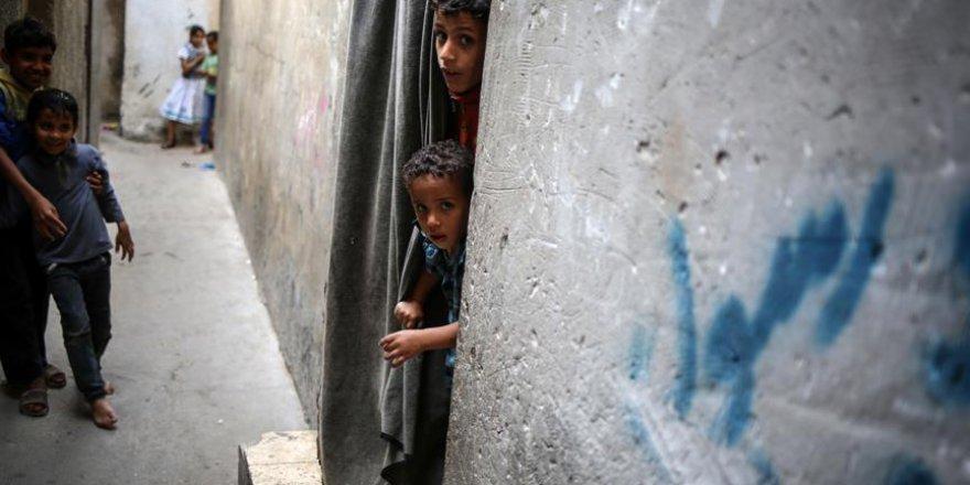 Gazze'deki Şati Mülteci Kampı'nda 'Nekbe' izleri