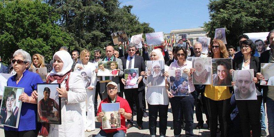 Katil Esed'e 'cezaevi' protestosu