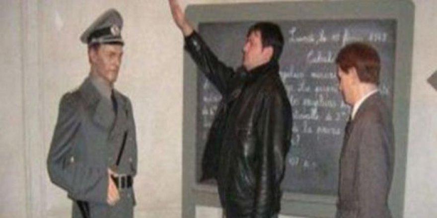 Nazi selamı istifa getirdi